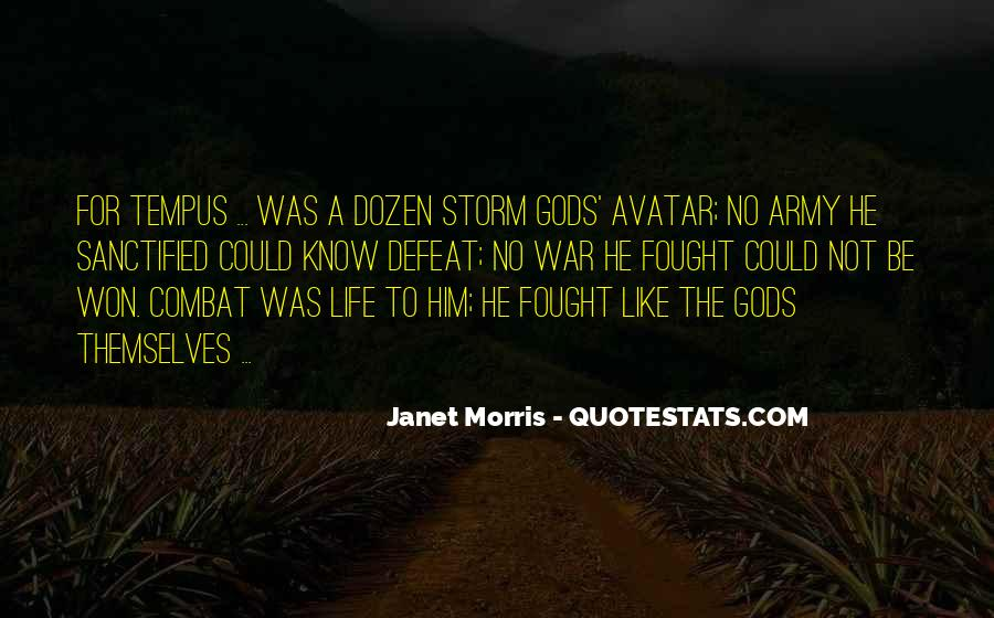 Gods At War Quotes #264097