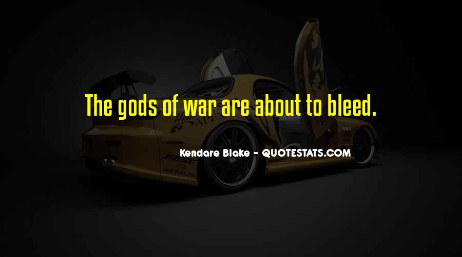 Gods At War Quotes #310637