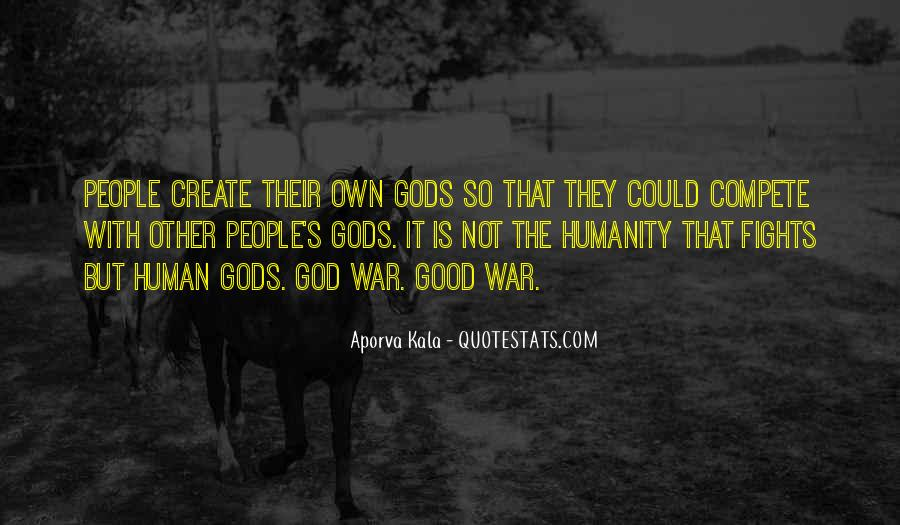 Gods At War Quotes #40045