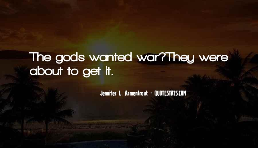 Gods At War Quotes #491530