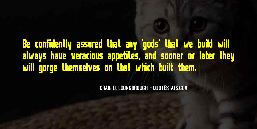 Gods Themselves Quotes #1021301
