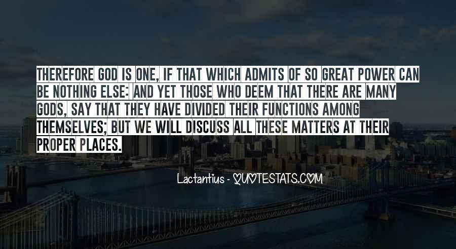 Gods Themselves Quotes #1162310