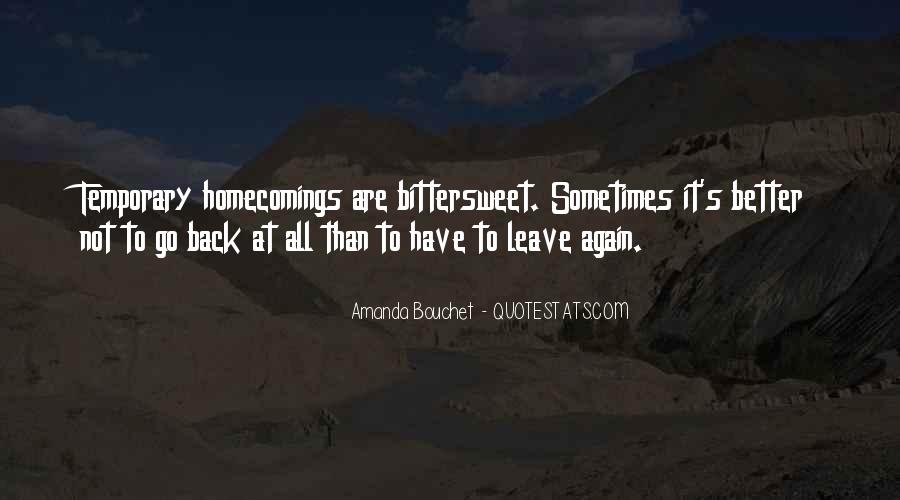 Going Back Home Again Quotes #1008814