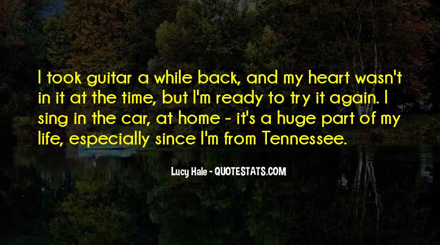 Going Back Home Again Quotes #430113