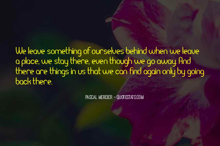 Going Back Home Again Quotes #607091