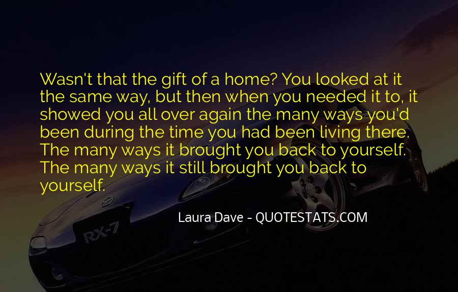 Going Back Home Again Quotes #671565
