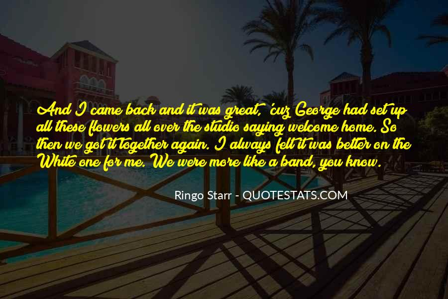 Going Back Home Again Quotes #700431