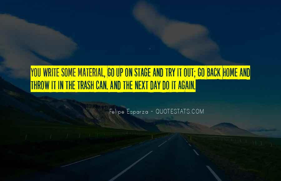 Going Back Home Again Quotes #725151