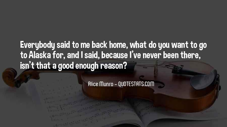 Going Back Home Soon Quotes #11864