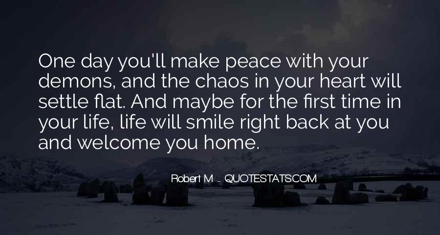 Going Back Home Soon Quotes #18748