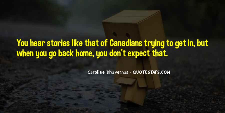 Going Back Home Soon Quotes #25407