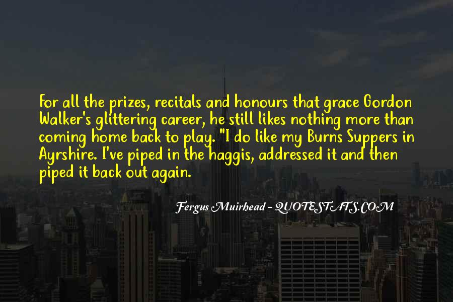Going Back Home Soon Quotes #9249