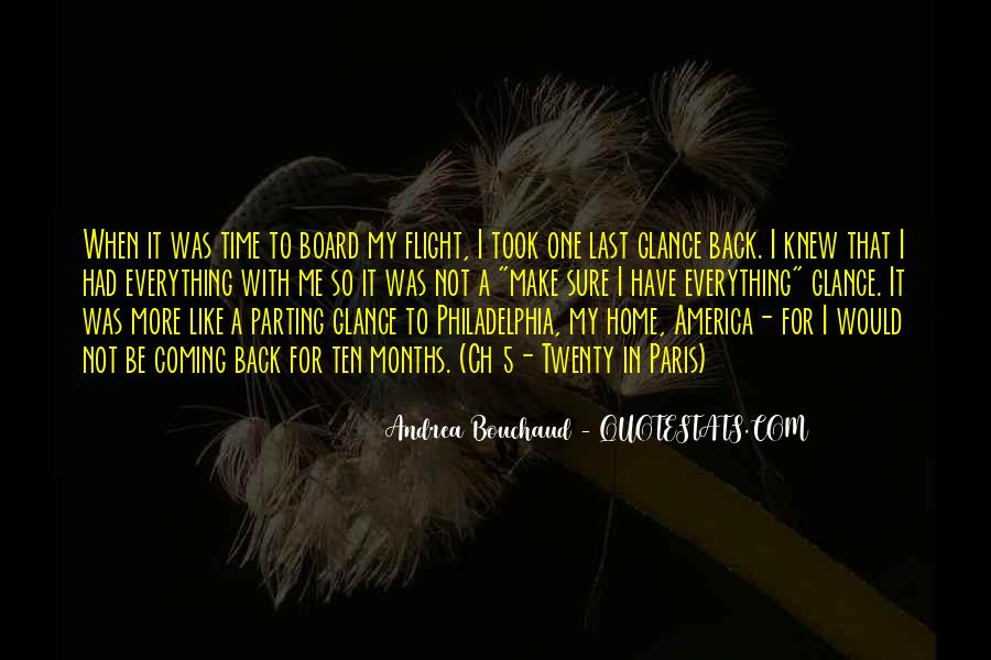 Going Back To Abroad Quotes #1387722