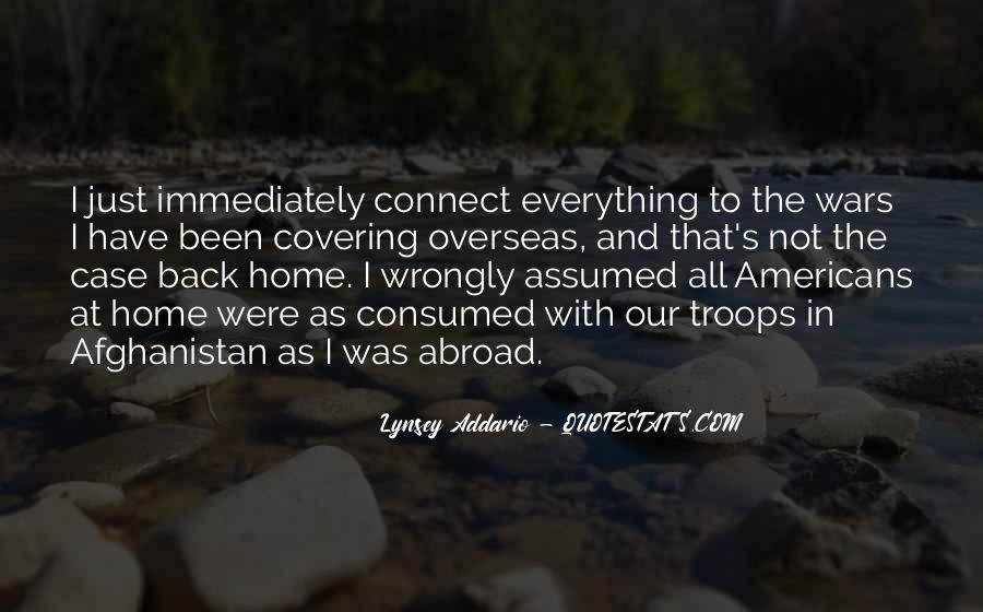 Going Back To Abroad Quotes #511983