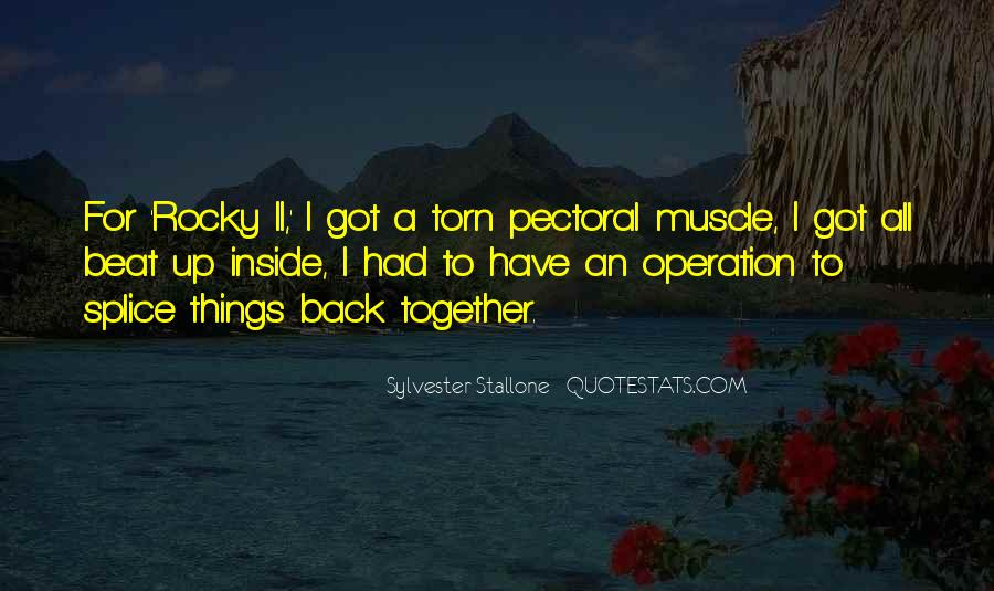 Going For Operation Quotes #34967