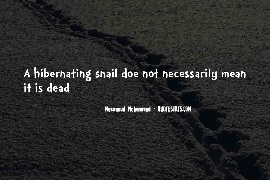 Going Into Hibernation Quotes #43417