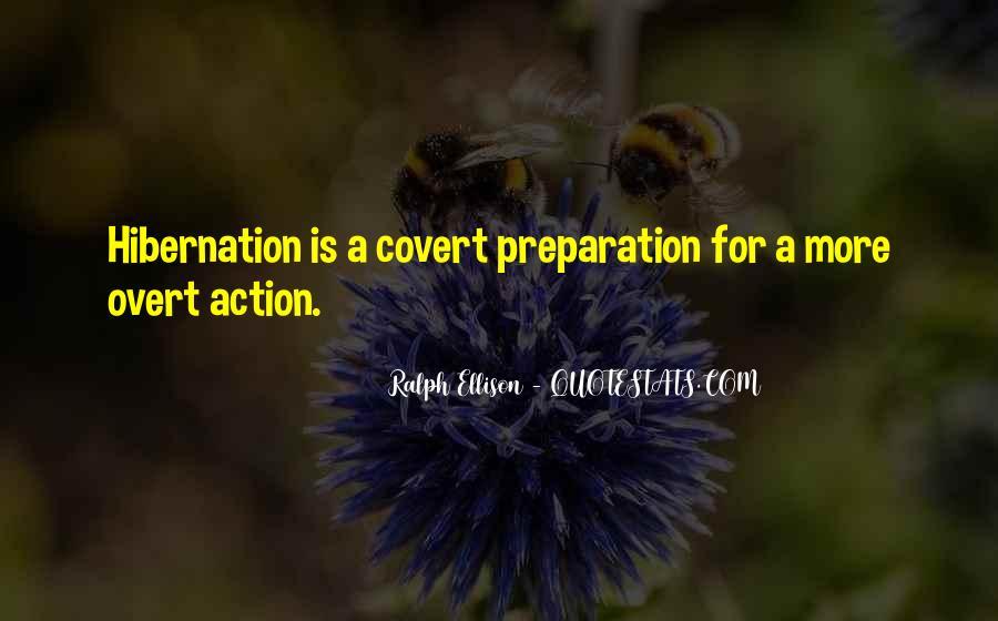 Going Into Hibernation Quotes #6150