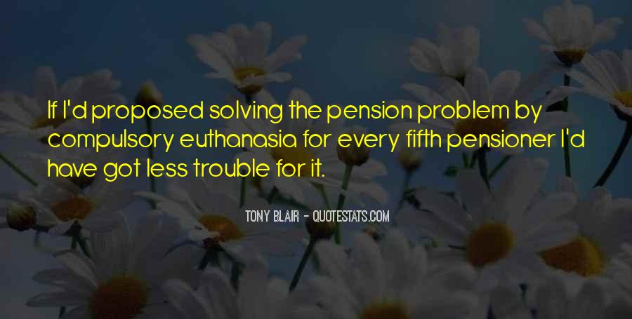 Going On Pension Quotes #150281