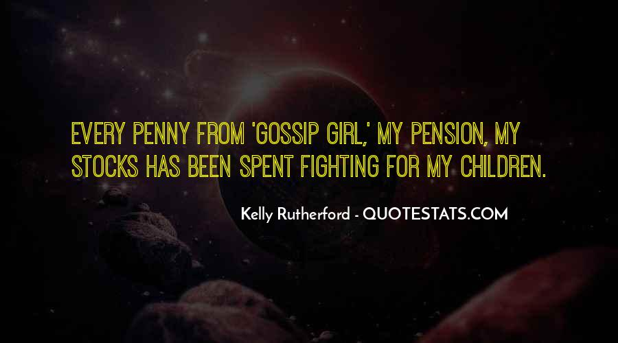 Going On Pension Quotes #44547