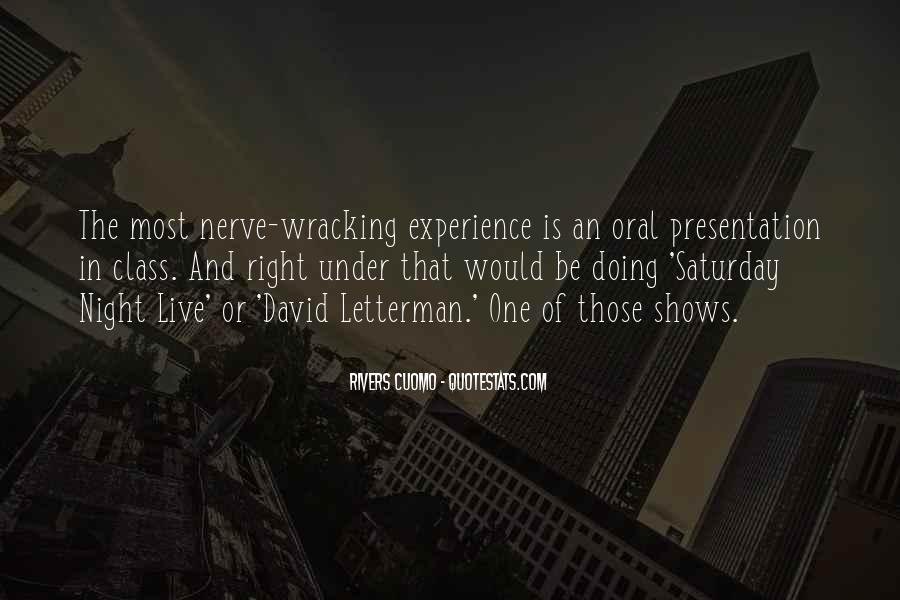 Going Out On Saturday Night Quotes #158995