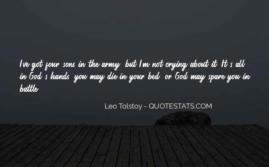 Going To Bed Crying Quotes #1035241