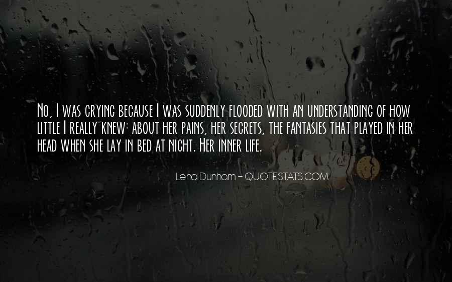 Going To Bed Crying Quotes #1155439