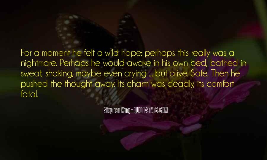 Going To Bed Crying Quotes #205862