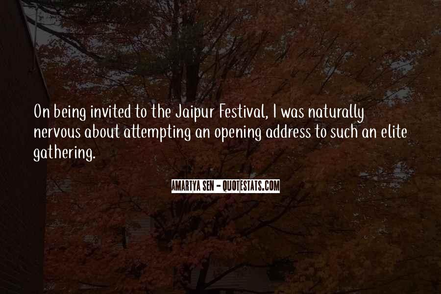 Going To Jaipur Quotes #1633687