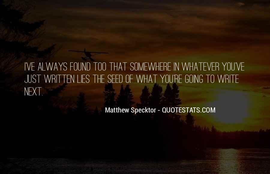 Going To Somewhere Quotes #457186