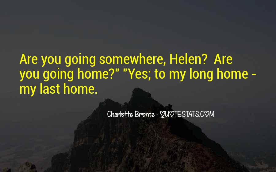 Going To Somewhere Quotes #551811