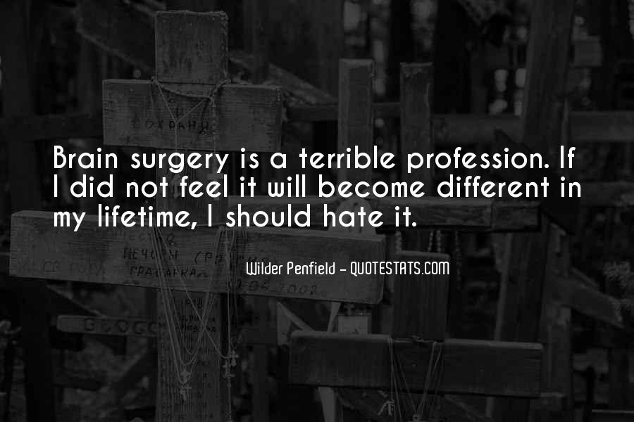 Going Under Surgery Quotes #26143