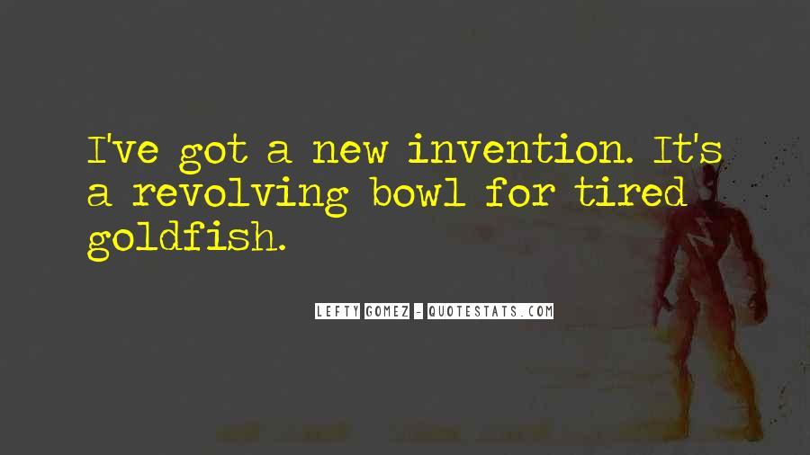 Goldfish Bowl Quotes #135533