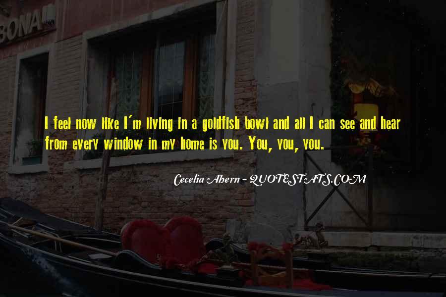Goldfish Bowl Quotes #55467
