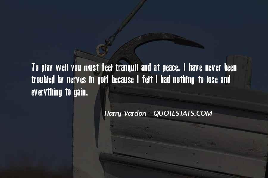 Golf Nerves Quotes #841048