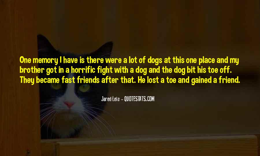 Gone So Fast Quotes #35805