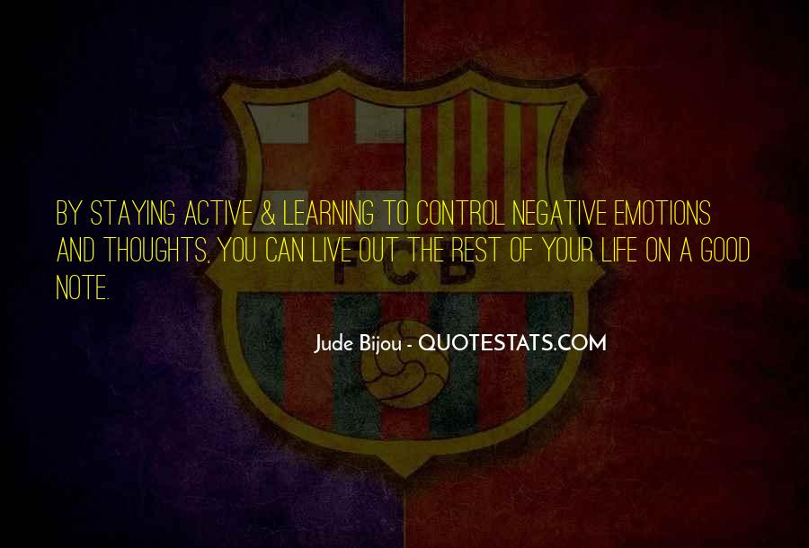 Good Active Life Quotes #1146566
