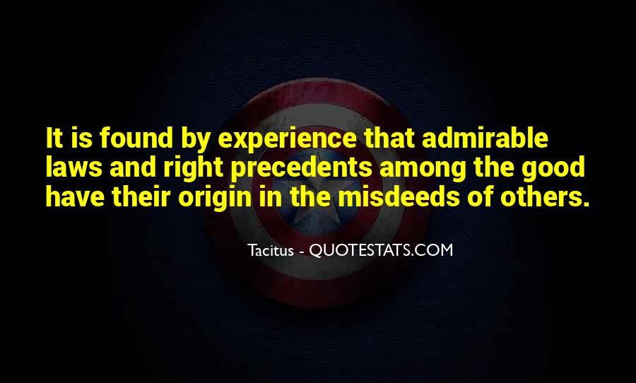 Good Admirable Quotes #1866726