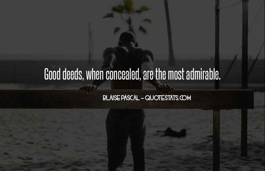 Good Admirable Quotes #646191