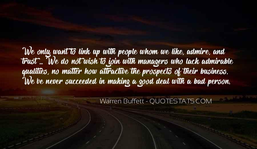 Good Admirable Quotes #850437