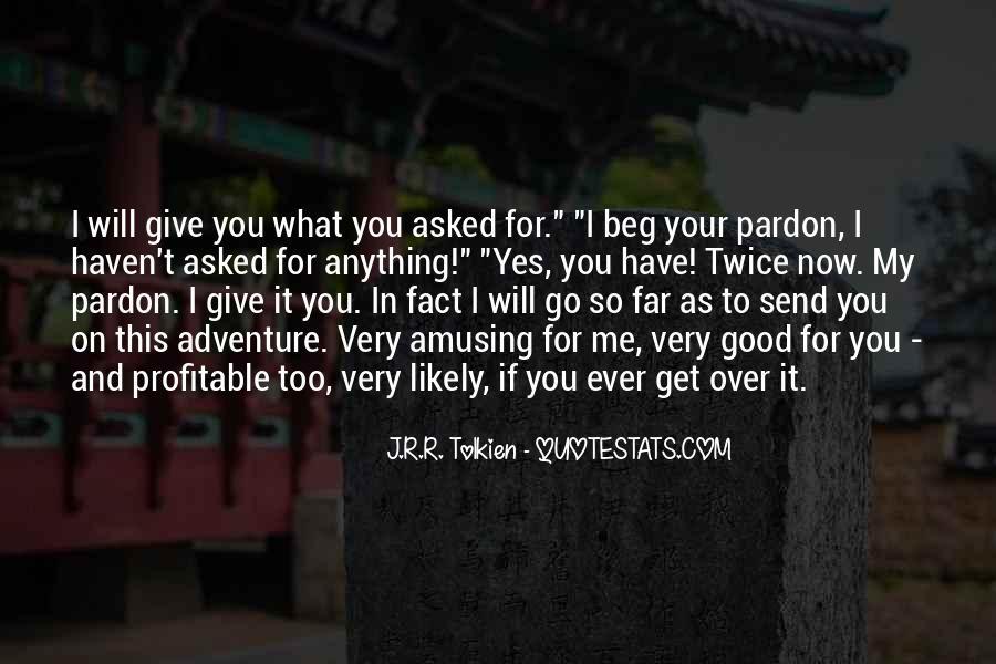 Good Adventure Quotes #1531057