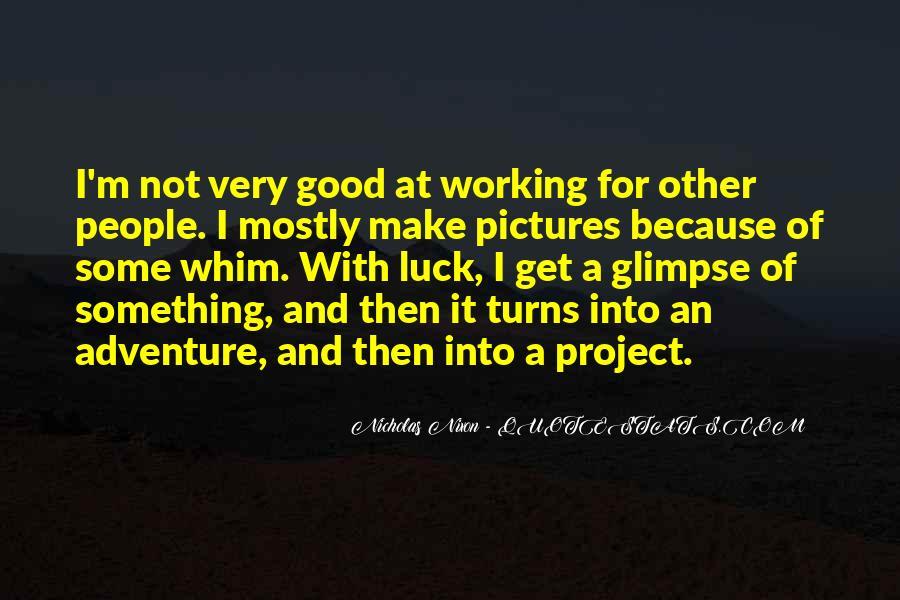 Good Adventure Quotes #161668