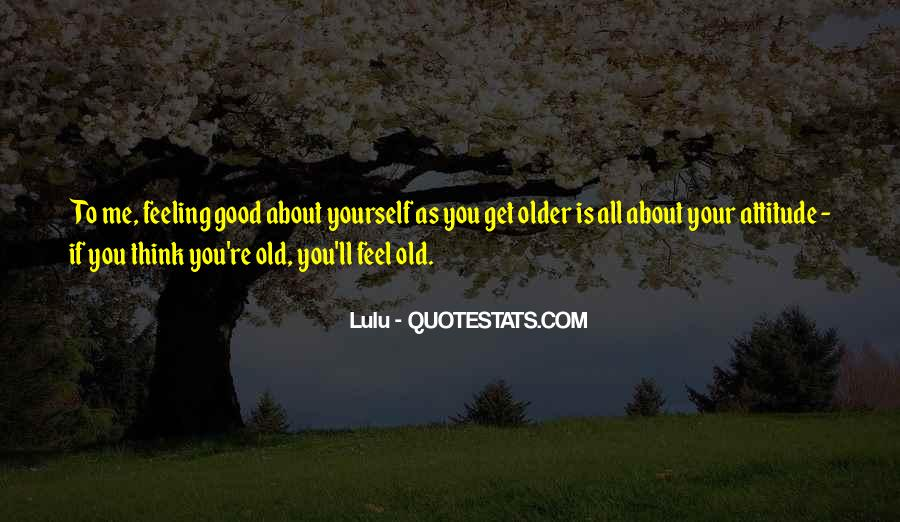 Good All About Me Quotes #1080342