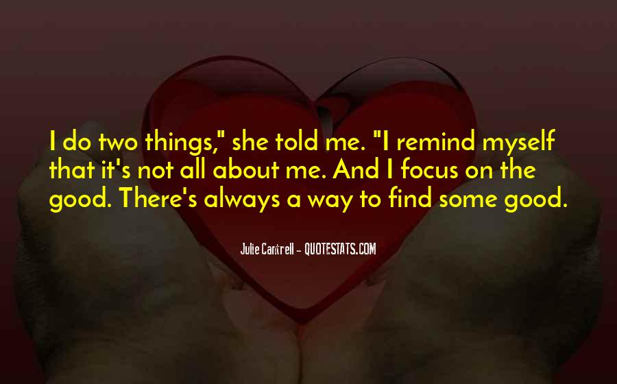 Good All About Me Quotes #618454