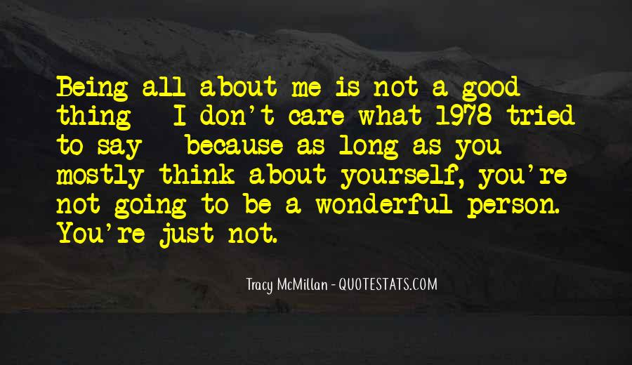 Good All About Me Quotes #905256
