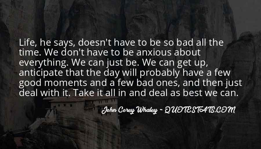 Good Anxious Quotes #1345083