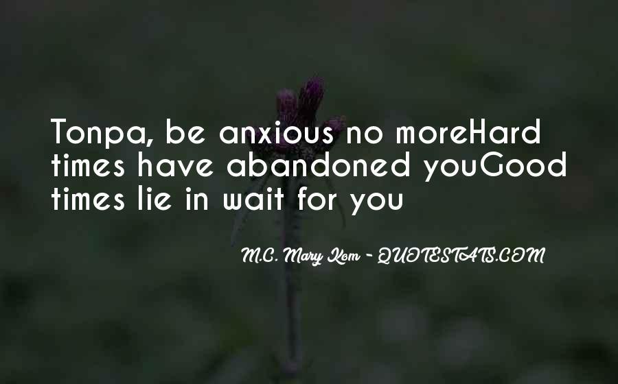 Good Anxious Quotes #1633649