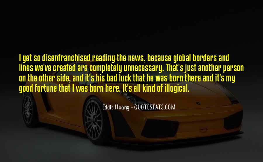 Good Bad News Quotes #137102