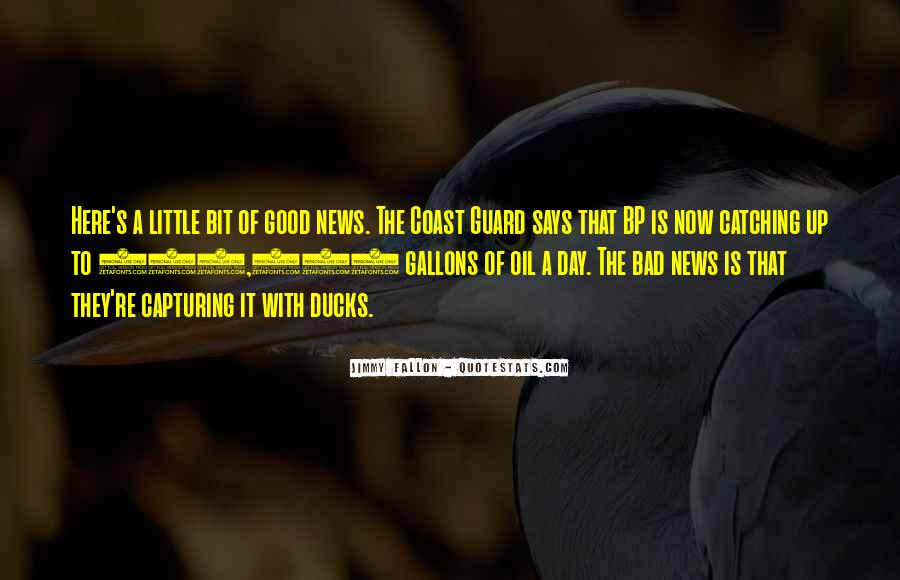 Good Bad News Quotes #171370