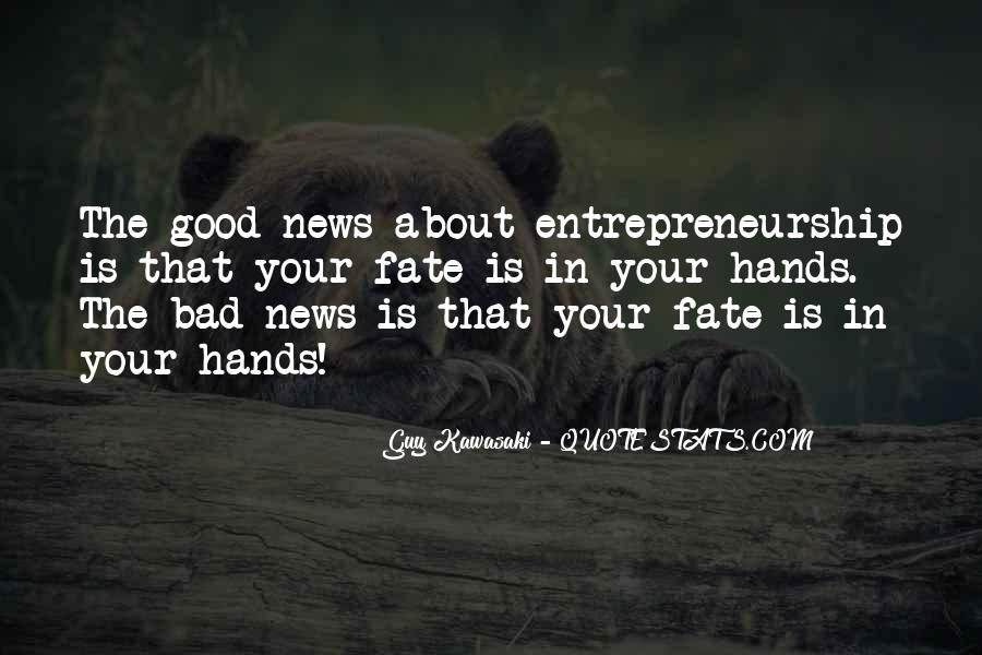 Good Bad News Quotes #735363