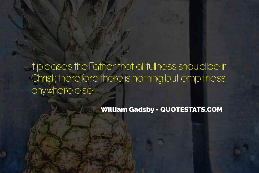 Quotes About Gadsby #1561100